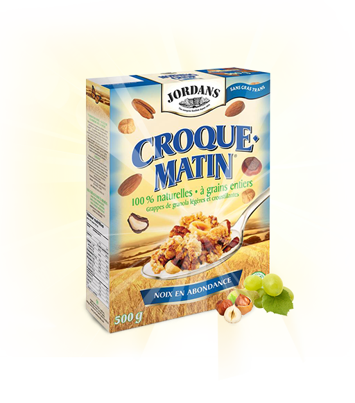 102 proddetail crisp nut fr - Nouveau coupon rabais de 75¢ sur une boite de céréales Croque Matin de 500g!