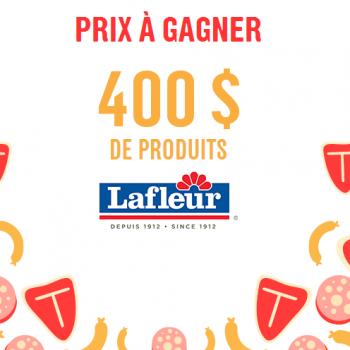 atableqc 350x350 - Concours  à table Québec: Gagnez 400$ de produits Lafleur!