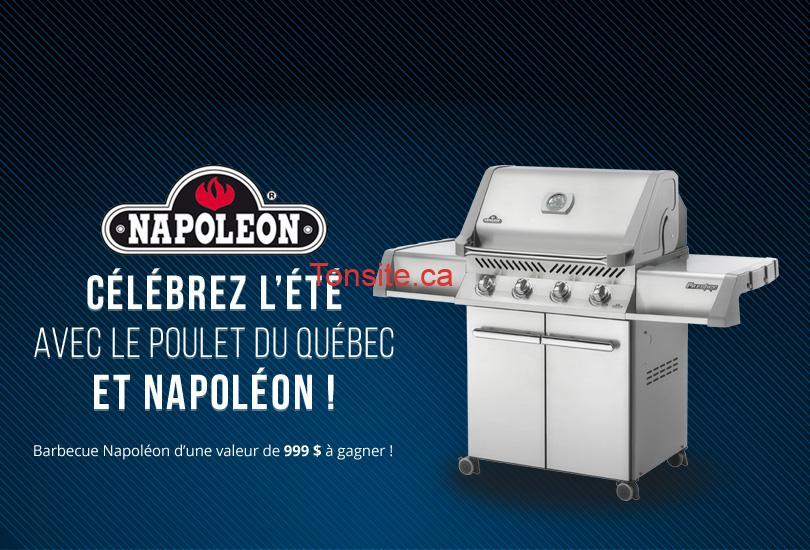 barbecue - Concours Le Poulet du Québec:  Gagnez un barbecue Napoléon d'une valeur de 999$!