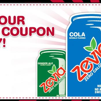 canadacoupon 350x350 - Nouveau coupon rabais de 1,50$ sur un paquet de 6 canettes Zevia!
