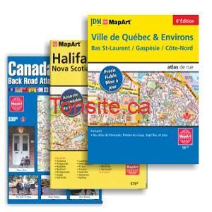 cartes routieres - GRATUIT: Obtenez des cartes routières des provinces canadiennes gratuit!