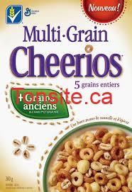 cheerios - Céréales multi-grains Cheerios à 2$ après coupon!