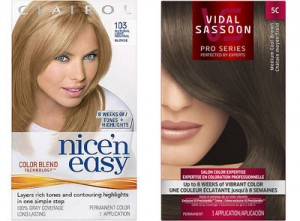 clairol nice easy copy 300x221 - Nouveau coupon rabais de 1$ sur les colorants capillaires Clairol ou Vidal sassoon