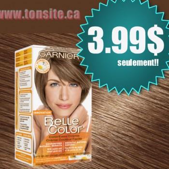 garnier belle color 350x350 - Colorant capillaire Belle color de Garnier à 3.99$ sans coupon!