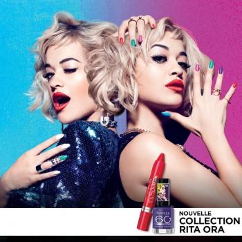 ritaora 350x350 - Concours Rimmel London: Gagnez la nouvelle collection de Rita Ora!