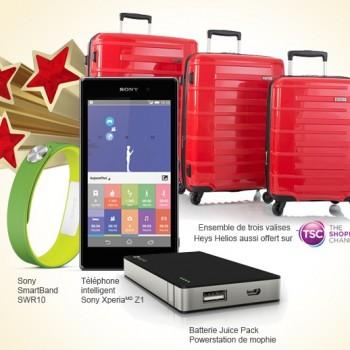 rogers prix 350x350 - Concours Rogers: Gagnez une superbe trousse de voyage incluant un téléphone intelligent Sony Xperia Z1