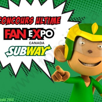 subway concours1 350x350 - Concours Subway: Gagnez un voyage à Toronto et des billets VIP!