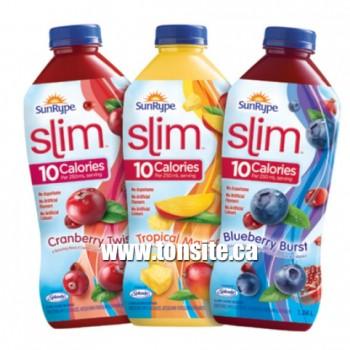 sunrype slim1 350x350 - Coupon rabais (Achetez-en un Jus SunRype Slim 1,36L et obtenez-en un gratuitement)!