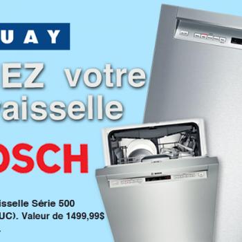 tanguay bosh 350x350 - Concours Ameublements Tanguay: Gagnez une lave-vaisselle Bosh d'une v aleur de 1499,99$!