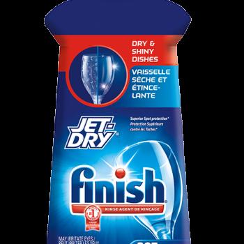 Jet Dry 350x350 - Agent de rinçage pour lave-vaisselle  Jet Dry de Finish (250ml) à 2.49$