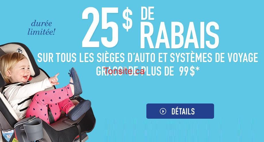 cargo - 25$ de rabais sur tous les sièges d'auto et systèmes de voyage Graco de plus de 99$!