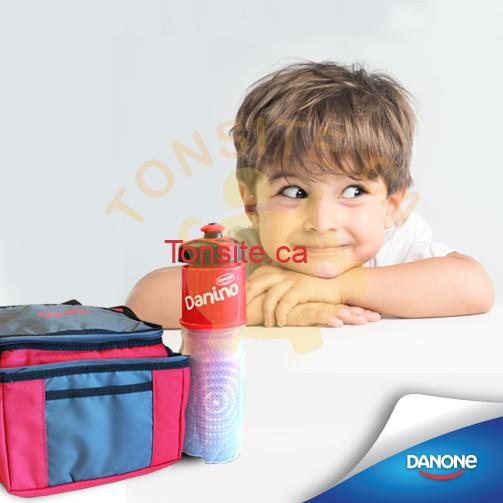 danone concours - Concours Danone: Gagnez une boîte à lunch et une gourde