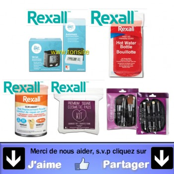 rexal jpg 350x350 - 8,50$ en coupons rabais sur les produits Rexall