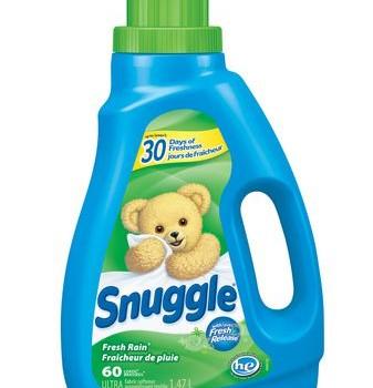 snugles 337x350 - Assouplisseur Snuggle (60 brassées) à 2.49$ après coupon! (Prix rég: 6.18$)