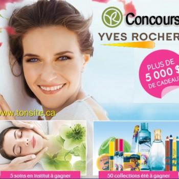 yves rocher 1 350x350 - Concours Yves Roches: Plus de 5000$ de cadeaux à gagner!