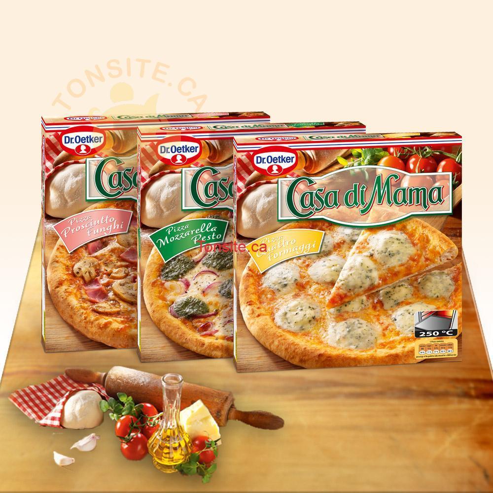 Pizzas surgelées Ristorante ou Casa Di Mama à 2,98$ au lieu de 5,99$