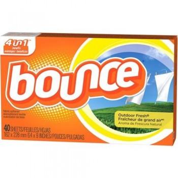 bounce 40 350x350 - Assouplisseur Bounce (40 feuilles) à 99¢ après coupon