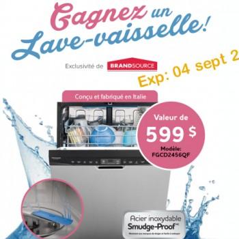 bransource1 350x350 - Concours BrandSource: Gagnez un lave-vaisselle Frigidaire d'une valeur de 599 $