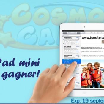 divine ipad 1 350x350 - Concours Divine: Gagnez un iPad mini Wi-Fi 16 Go et la collection CosmoCamp