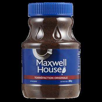 maxwel house 350x350 - Café instantané Maxwell House à 1.49$ au lieu de 6,47$ (après coupon)