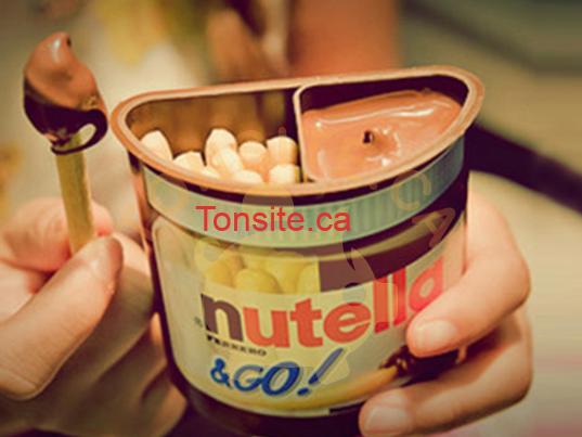 nutella go - Concours Nutella: Gagnez un des 20 échantillons Nutella & GO!