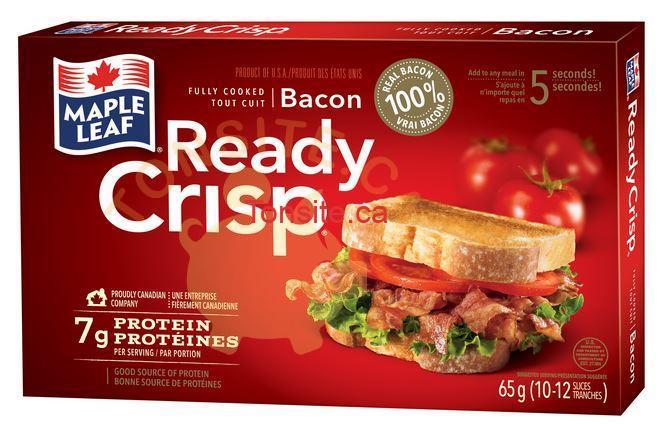ready crisp - Coupon rabais de 1,50$ sur n'importe quel emballage de Ready Crisp de Maple Leaf