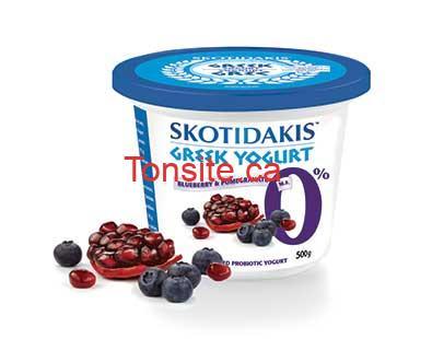 skotidakis - Skotidakis yogourt grec (500g) à 1.75$ au lieu de 3.99$ (après coupon)