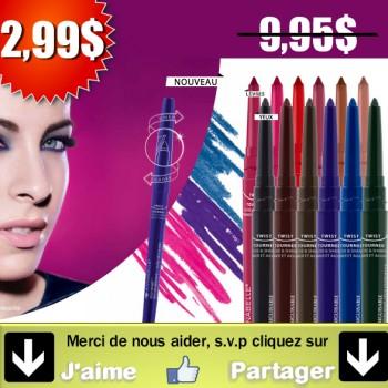 staysharp1 350x350 - Crayons yeux ou lèvres hydrofuges auto aiguisables Stay Sharp d'Annabelle à 2,99$ au lieu de 9.95$