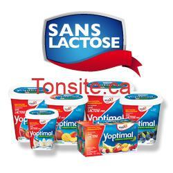 yoptimal - GRATUIT: Obtenez un coupon de gratuité pour un produit yogourt Yoptimal sans lactose