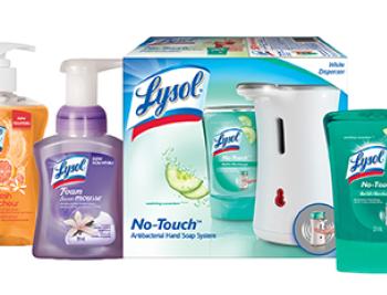 Lysol 350x267 - 4,25$ en coupons rabais sur les produits Lysol