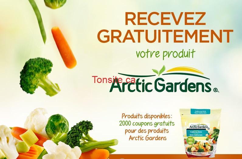 arctic gardens - GRATUIT: Obtenez un coupon gratuit pour des produits Arctic Gardens