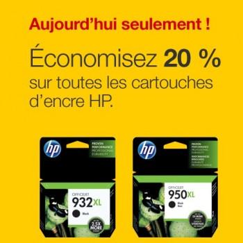 bureau en gros encre 350x350 - Bureau en Gros: Obtenez un rabais de 20% sur tous les cartouches d'encore HP