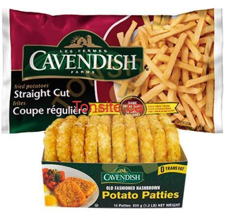 cavendish011 - Coupon rabais de 1.50$ sur 2 produits Cavendish