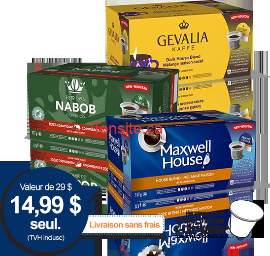 delichantillons kraft - Délichantillons Kraft: Obtenez 3 boîtes de dosettes + un livret de recettes et 3$ en coupons à 14,99$ seulement!