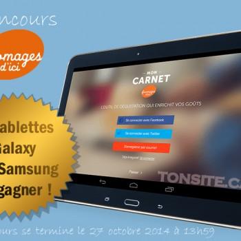 fromagesdici 350x350 - Concours Les fromages d'ici: Gagnez 1 des 6 tablettes Samsung (valeur totale + de 2000$)