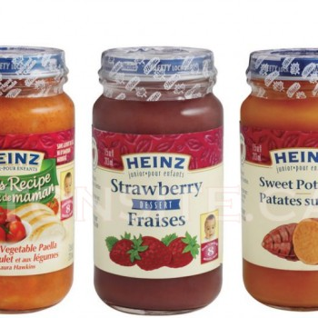 heinz baby 350x350 - Pots de nourriture pour bébé Heinz (128ml) à 69¢ après coupon