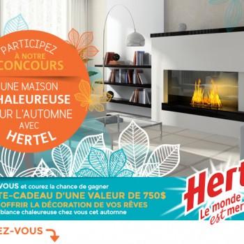 hertel concours2 350x350 - Concours Hertel: Gagnez une carte-cadeau d'une valeur de 750$
