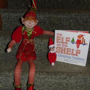 lutin 350x350 - Concours Les p'tits lutins coquins de Noël: Gagnez un lutin 36 pouces et lutin 'The elf on the shelf''