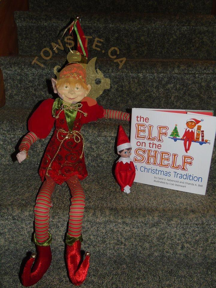 lutin - Concours Les p'tits lutins coquins de Noël: Gagnez un lutin 36 pouces et lutin 'The elf on the shelf''