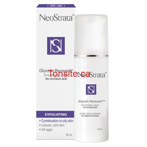 neostrata - Coupon rabais de 5$ sur les soins de la peau NeoStrata Glycolic Renewal