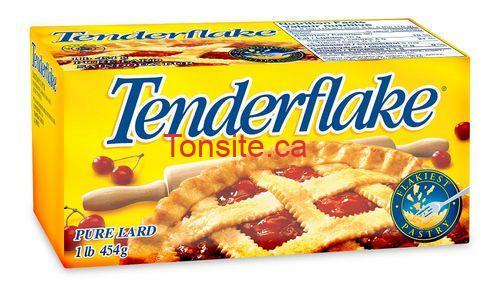 saindouxtenderflake - Saindoux pur Tenderflake à 99¢ au lieu de 2,49$