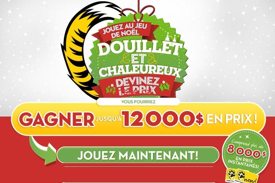 tigre geant concours - Concours Tigre Géant: Gagnez des cartes-cadeaux, ordinateur portatif, Kinect Xbox et des prix instantanés (12.000$ à gagner!)