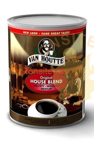 Photo of Café grains entiers ou moulus (650g) ou Orient Express (908g) de Van houtte à 6,88$ au lieu de 15,99$