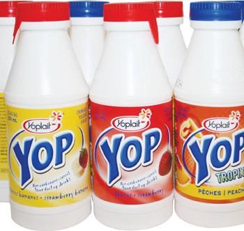 yop 350x332 - Yogourt à boire YOP Yoplait à 62¢ au lieu de 1,10$