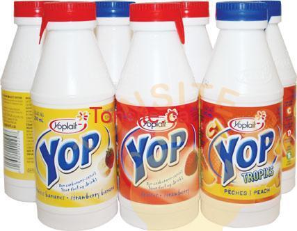 yop - Yogourt à boire YOP Yoplait à 62¢ au lieu de 1,10$