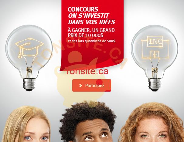 banque nationale concours - Concours Banque Nationale: Gagnez 10.000$ ou 1 des 26 prix chèques de 500$