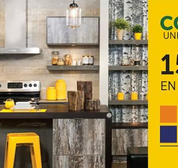 cuisines actions 350x330 - Concours Armoires Cuisines Action: 15.000$ en prix à gagner!