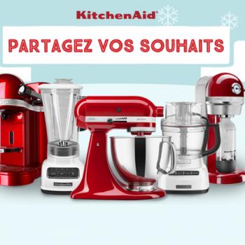 kitchenaid concours 350x350 - Concours KitchenAid: Partagez vos souhaits