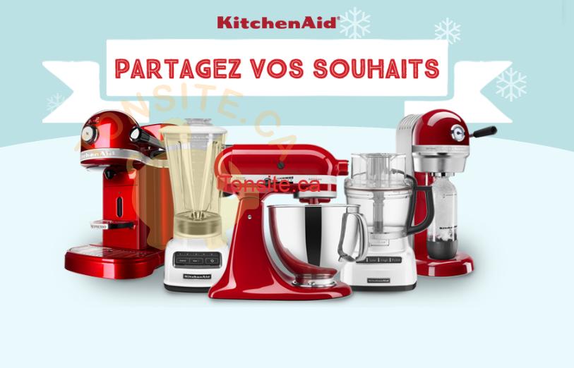 Photo of Concours KitchenAid: Partagez vos souhaits