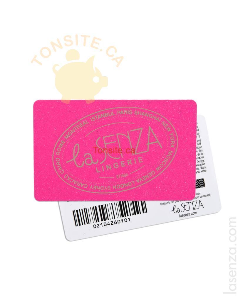 la senza gift card - Concours La Senza: Gagnez 500$ ou 1 des 37 prix quotidiens